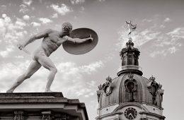 Architekturfotografie: Berlin – Schloss Charlottenburg / Schwarz-Weiss