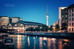 Architekturfotografie: Berlin - Bahnhof Friedrichstrasse