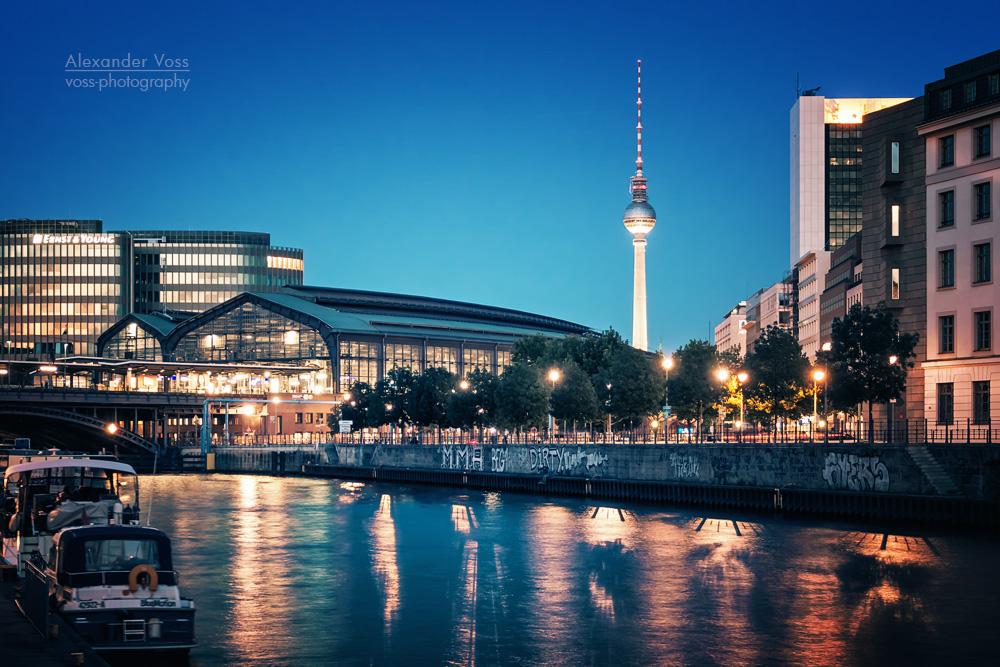 Architekturfotografie: Berlin – Bahnhof Friedrichstrasse