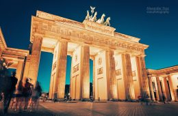 Architekturfotografie: Berlin – Brandenburger Tor