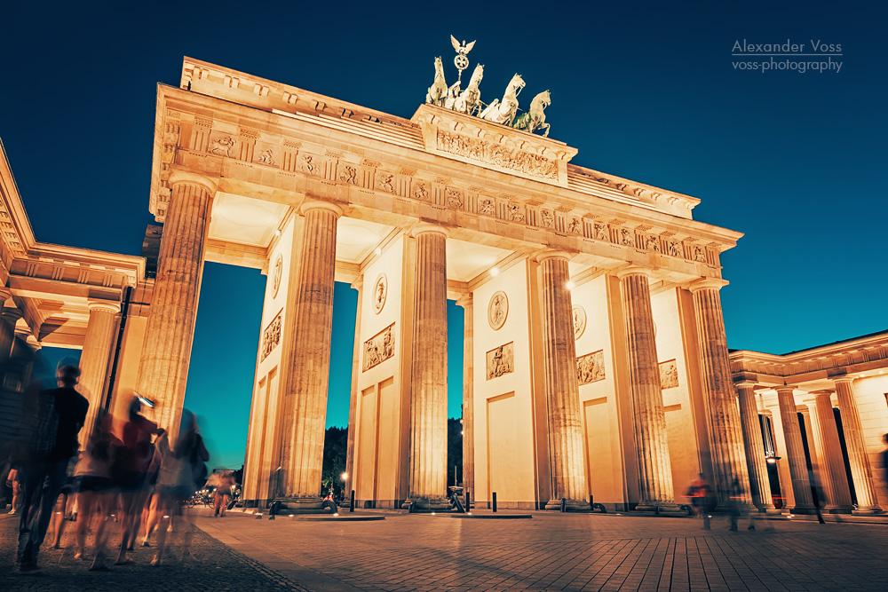 Architekturfotografie: Berlin – Brandenburger Tor
