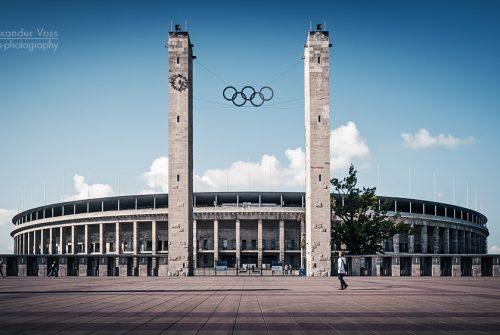 Architekturfotografie: Berlin – Olympiastadion