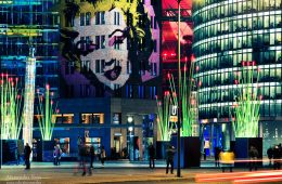 Architekturfotografie: Berlin – Potsdamer Platz / Festival of Lights