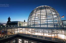 Architekturfotografie: Berlin – Reichstag Dachterrasse