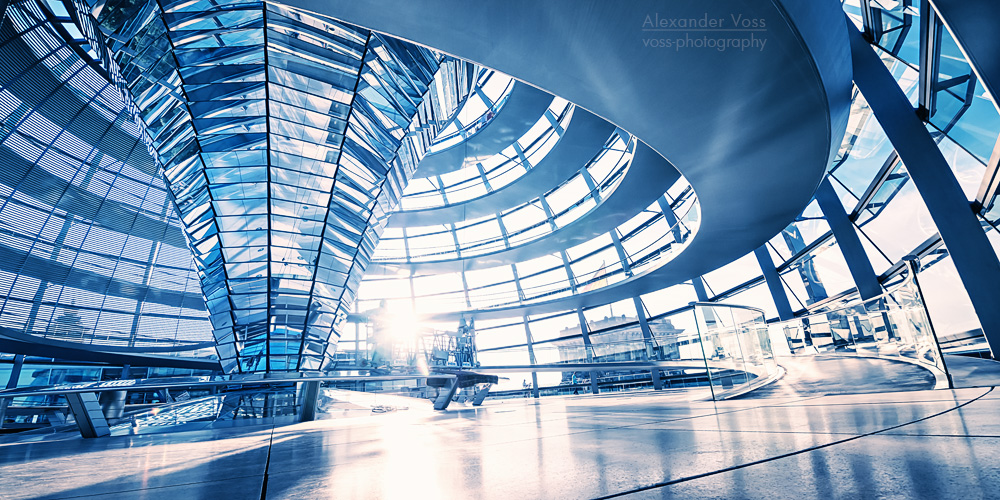 Architekturfotografie: Berlin – Reichstagskuppel
