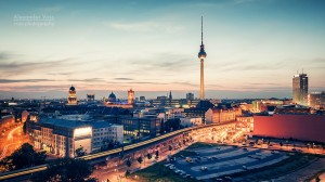 Architekturfotografie: Berlin - Skyline