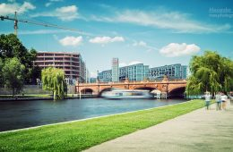 Architekturfotografie: Berlin – Spreebogen / Moltkebrücke
