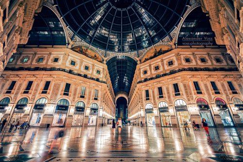 Architekturfotografie: Mailand – Galleria Vittorio Emanuele II