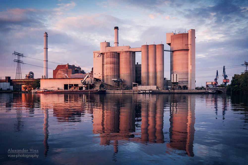 Architekturfotografie: Zementwerk Berlin / Kraftwerk Klingenberg