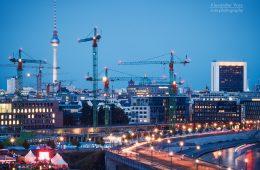 Architekturfotografie: Baustelle Berlin