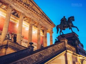 Architekturfotografie: Berlin - Alte Nationalgalerie