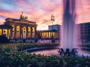 Architekturfotografie: Berlin - Brandenburger Tor / Pariser Platz