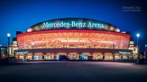 Architekturfotografie: Berlin - Mercedes-Benz Arena