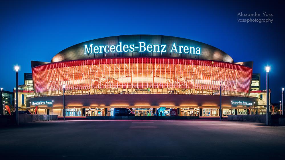 Architekturfotografie: Berlin – Mercedes-Benz Arena