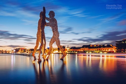 Architekturfotografie: Berlin – Molecule Man