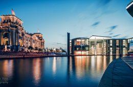 Architekturfotografie: Berlin – Panorama Regierungsviertel