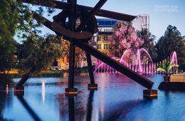 Architekturfotografie: Berlin – Potsdamer Platz / Piano-See