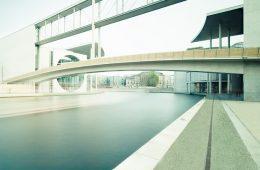 Architekturfotografie: Berlin – Regierungsviertel (Langzeitbelichtung)