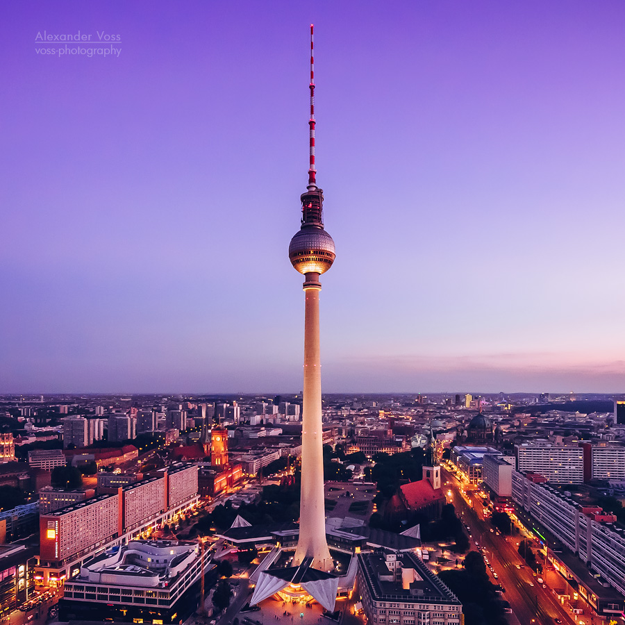 Architekturfotografie: Berlin – Skyline / Fernsehturm