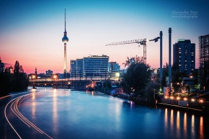Architekturfotografie: Berlin - Skyline