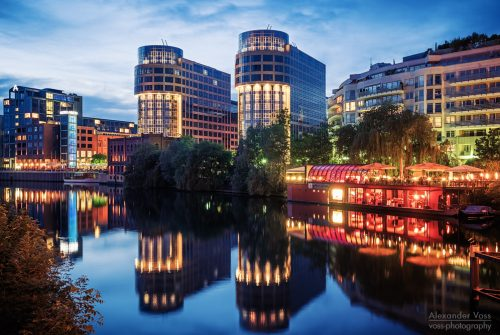 Architekturfotografie: Berlin – Spree-Bogen