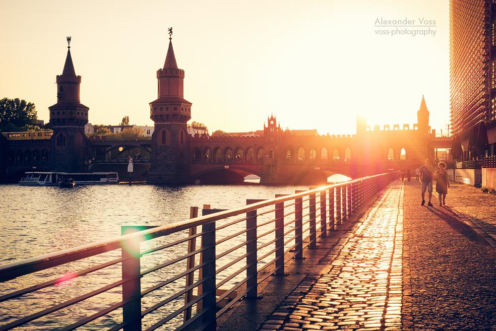 Architekturfotografie: Berlin – Spreeufer / Oberbaumbrücke
