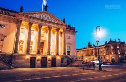 Architekturfotografie: Berlin – Staatsoper Unter den Linden