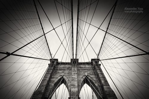 Architekturfotografie: New York – Brooklyn Bridge