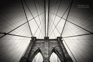 Architekturfotografie: New York - Brooklyn Bridge