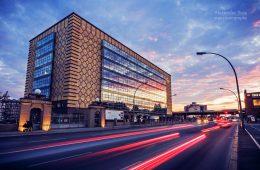 Architekturfotografie: Osthafen Berlin / Eierspeicher
